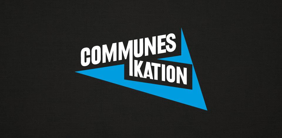 Logo Communes-ikation, Atelier graphique, Genève
