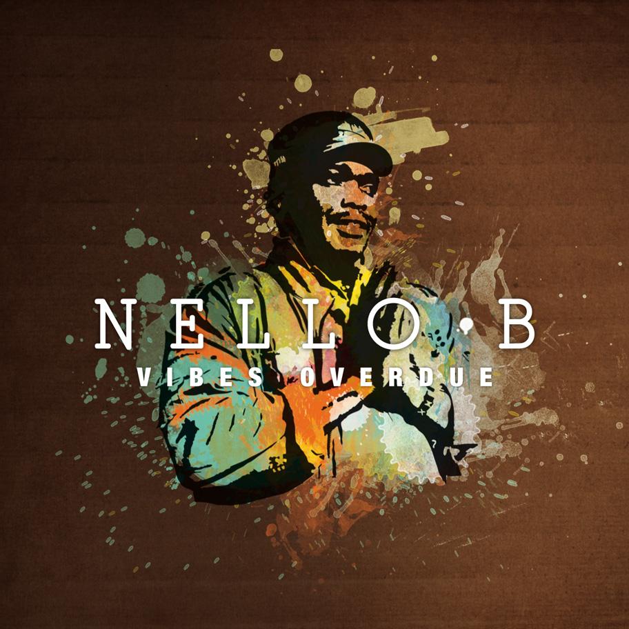 Album Cover Nello B, Atelier graphique, Genève.