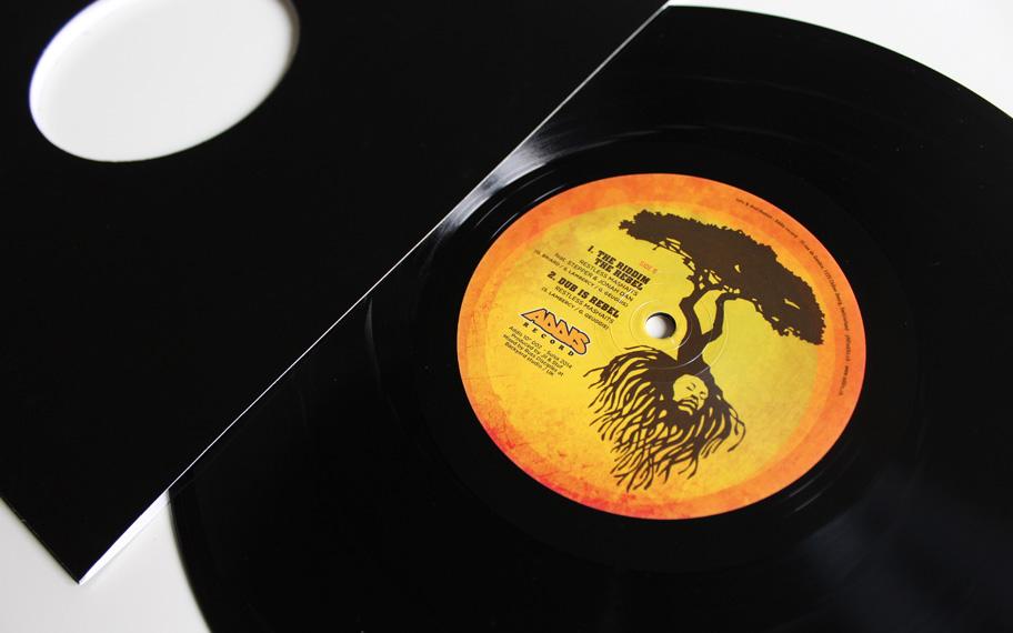 Label Addis Record, Atelier Graphique, Genève