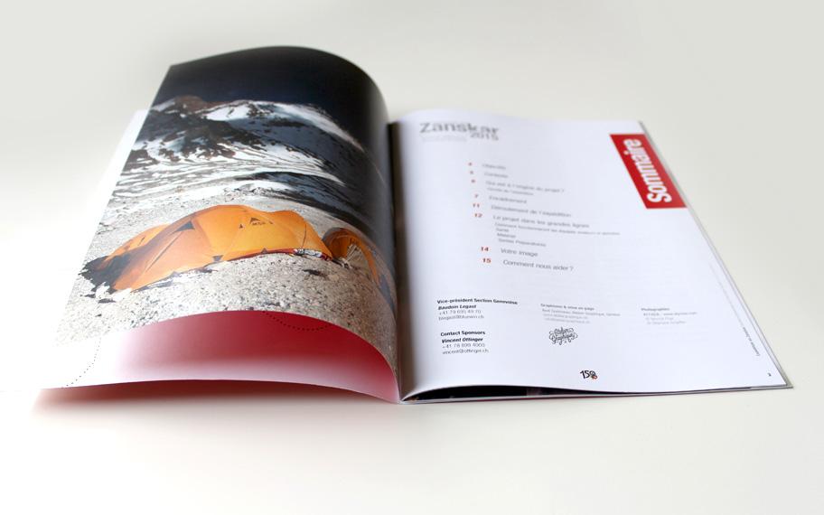 graphisme, genève, mise en page, dossier, brochures