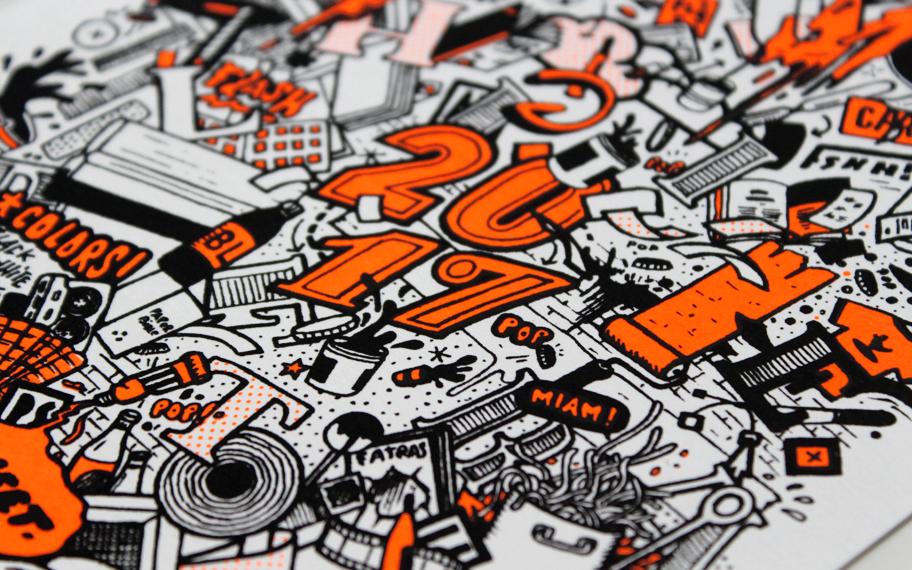 Atelier Graphique, Graphisme, Création graphique, Communication, sérigraphie