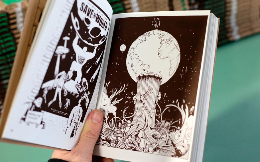Atelier Graphique, Fatras Fanzine, Mise en page, Graphisme, Edition, Sérigraphie