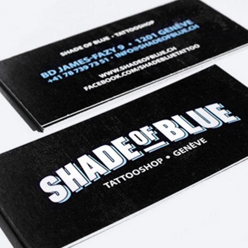 Shade of Blue, Tattooshop