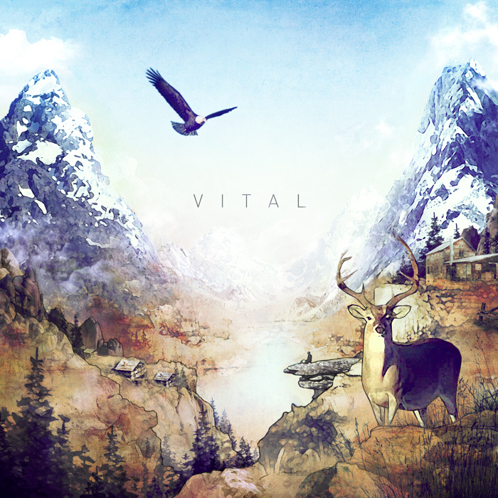 Vital – HEY single cover