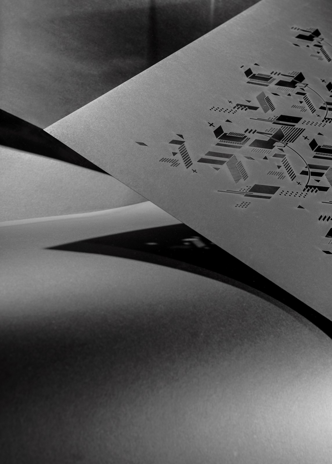 Graphisme, Poster, Création graphique, identité visuelle, mise en page, flyers, Graphic design, Genève, Geneva, Découpe laser, Concours, Sonderegger
