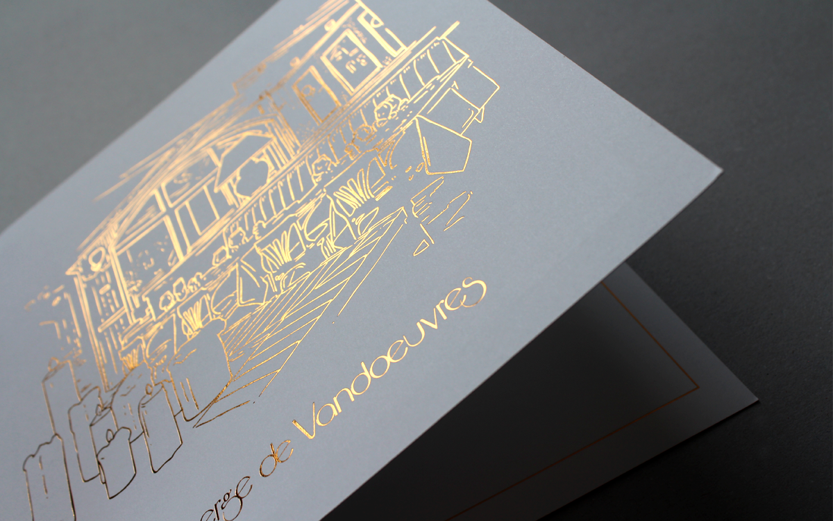 Atelier Graphique, Graphisme, Graphiste, Genève, Communication, Logo, Identité Visuelle, Auberge de Vandoeuvres
