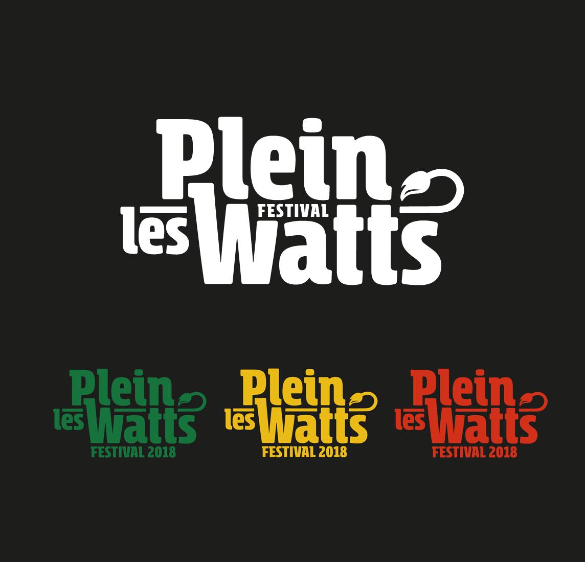 Communication, Plein Les Watts Festival, Graphisme, Graphiste, Création graphique, Agence de communication, Atelier Graphique, Genève