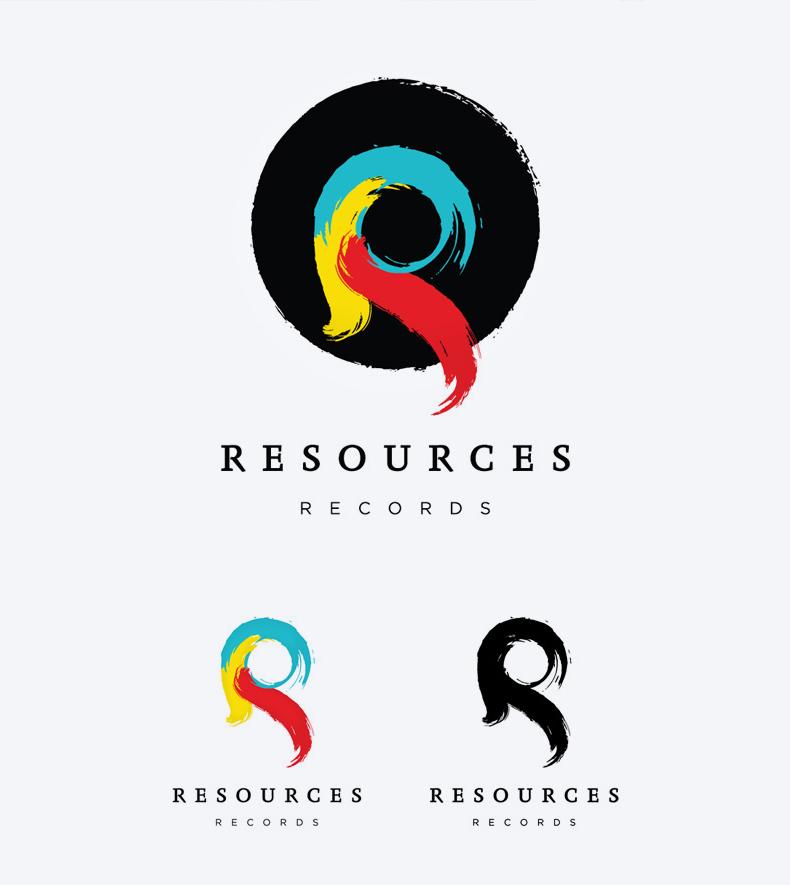 Atelier Graphique, Graphisme, Graphiste, Genève, Communication, Logo, Identité Visuelle, Resources Records