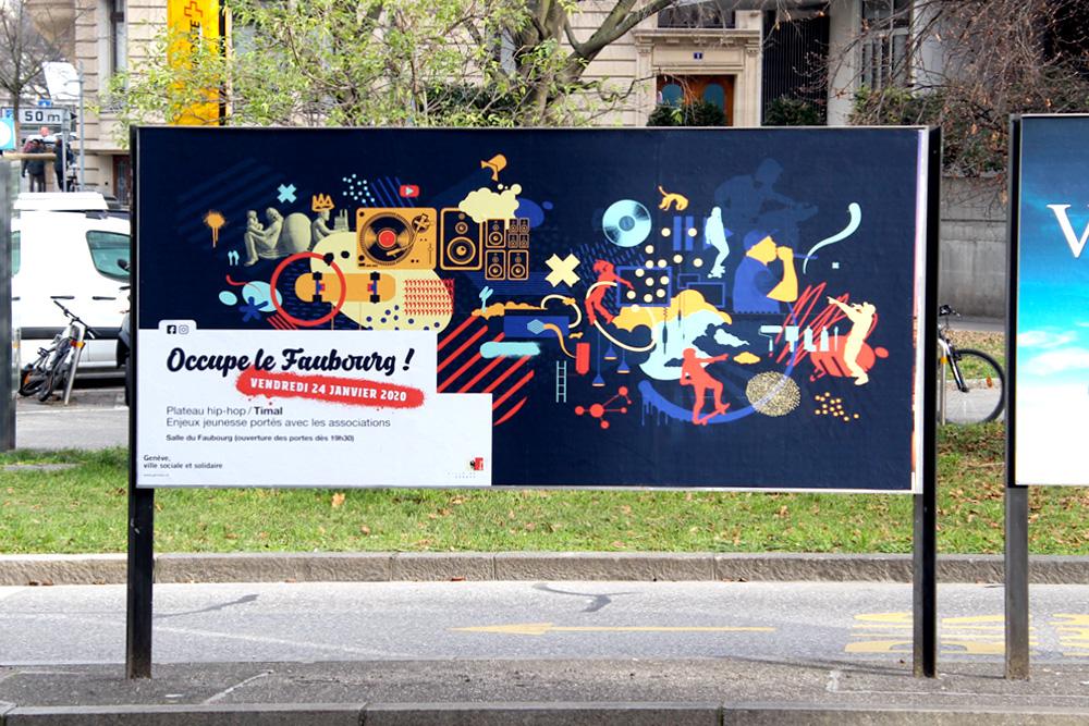 Graphisme, Graphiste, Communication, communication visuelle, Agence de communication, Atelier graphique, Genève, Affiche